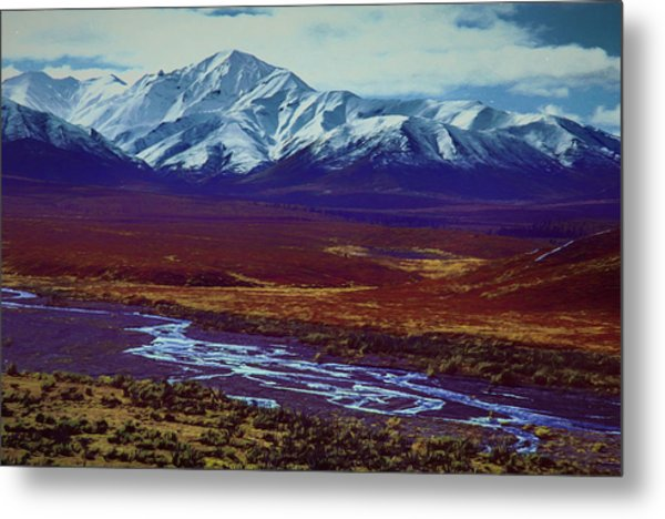 The Colors Of Toklat River Metal Print