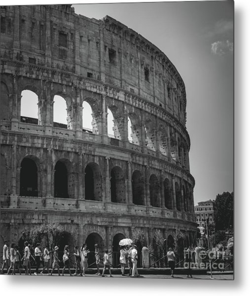 The Colosseum, Rome Italy Metal Print