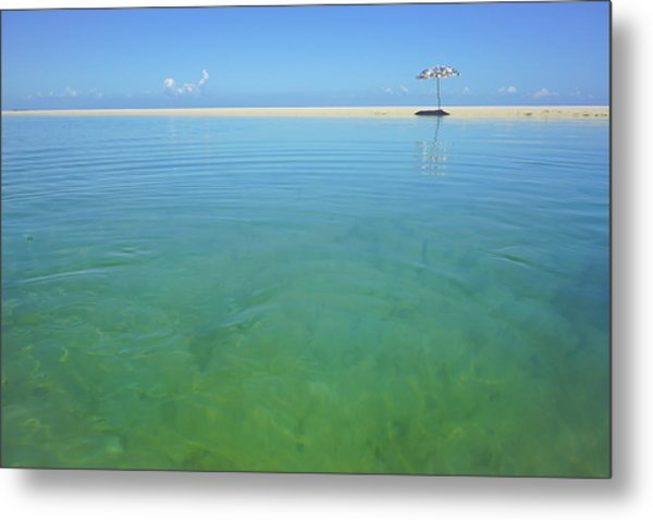 The Colours Of Paradise On A Summer Day Metal Print