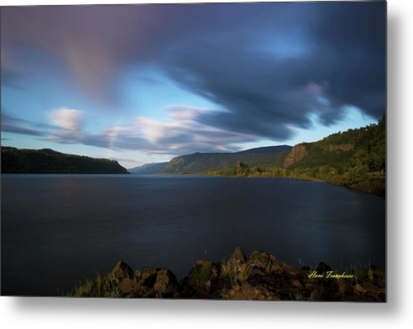 The Columbia River Gorge Signed Metal Print