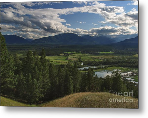 The Columbia Valley Metal Print