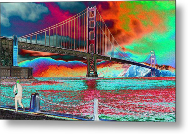 The Coming Fire Metal Print