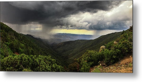 Metal Print featuring the photograph The Coming Storm by Rick Furmanek