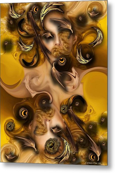 The Complex Angel Metal Print