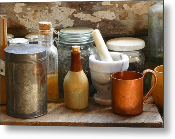 The Copper Cup Metal Print
