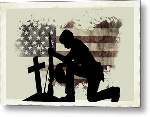 The Cost Of Freedom Metal Print