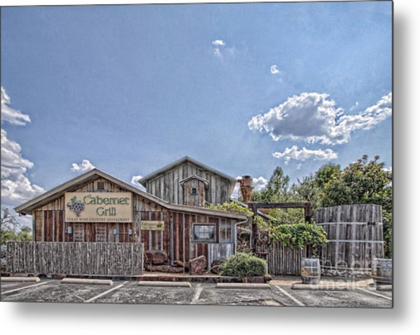 The Cotton Gin Village Metal Print
