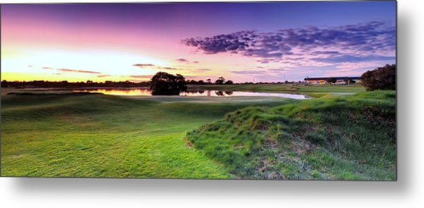 The Country Club Metal Print