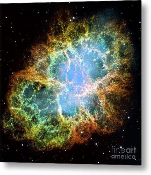 The Crab Nebula Metal Print