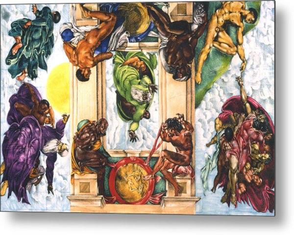 The Creation...in My Minds Eye Metal Print by Lamark Crosby