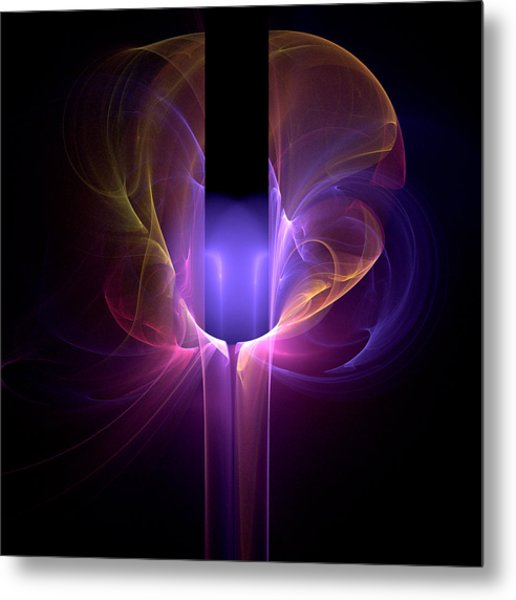 The Creative Mind - Abstract Metal Print