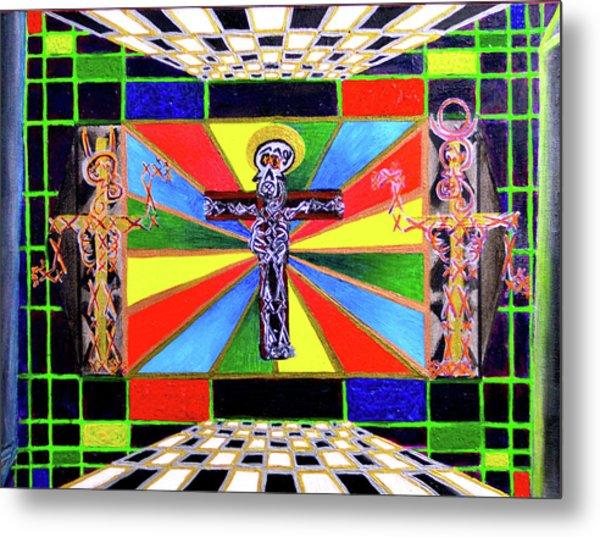 The Crucifffictiooon - Paradisi Gloooria Metal Print