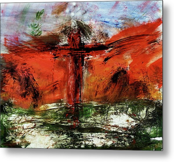 The Crucifixion #1 Metal Print