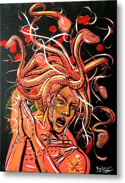 The Crumbler Of Hearts Metal Print by Ericka Bales