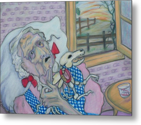 the curious case of Dorothy Gale Metal Print
