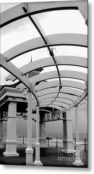 The Curve Metal Print