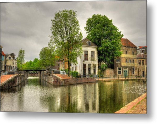 The Dam Metal Print by Hans Kool