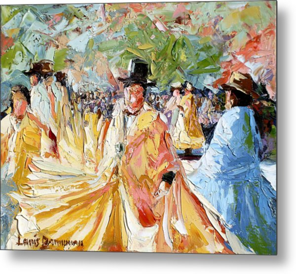 The Dance At La Paz Metal Print