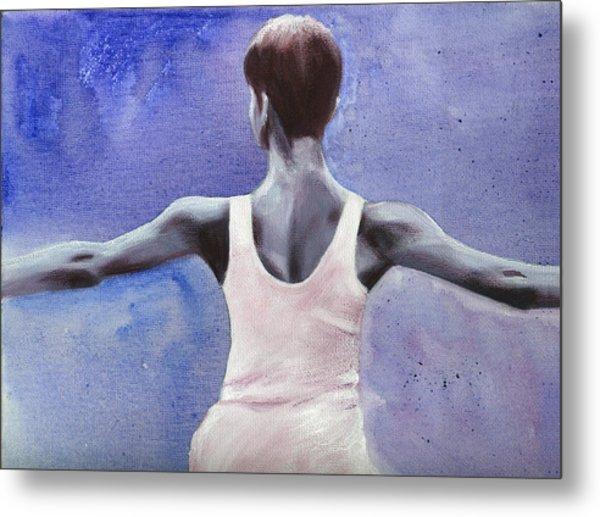 The Dancer Metal Print by Fiona Jack