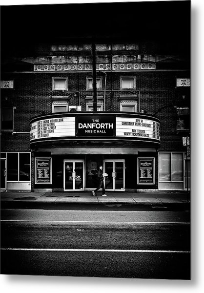 The Danforth Music Hall Toronto Canada No 1 Metal Print