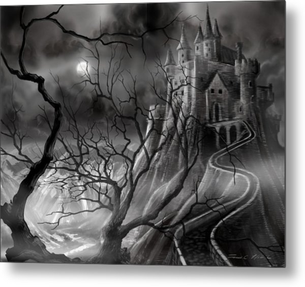 The Dark Castle Metal Print