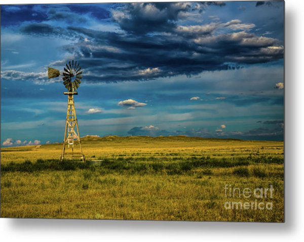 The Dark Wind Metal Print