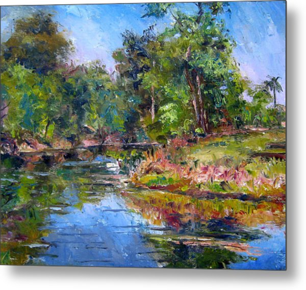 The Davie Canal Metal Print by Mark Hartung