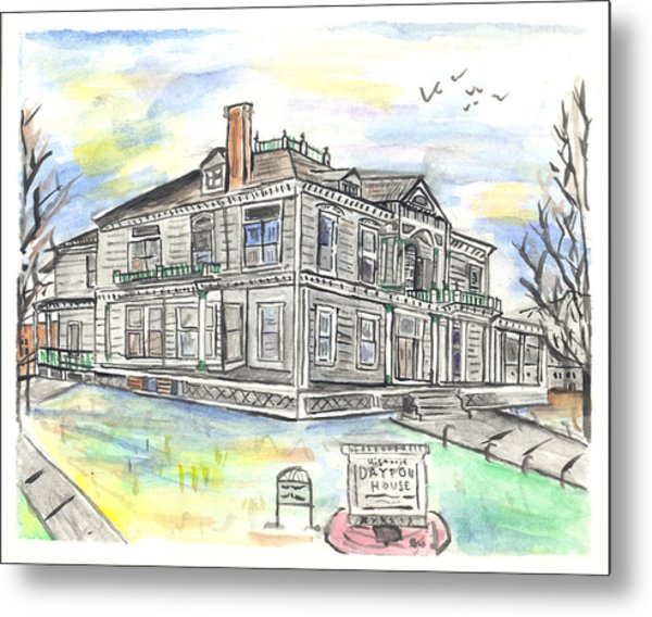 The Dayton House Metal Print