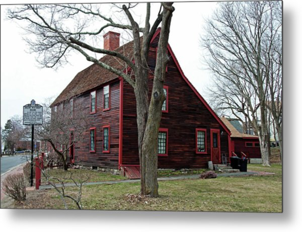 The Deane Winthrop House Metal Print