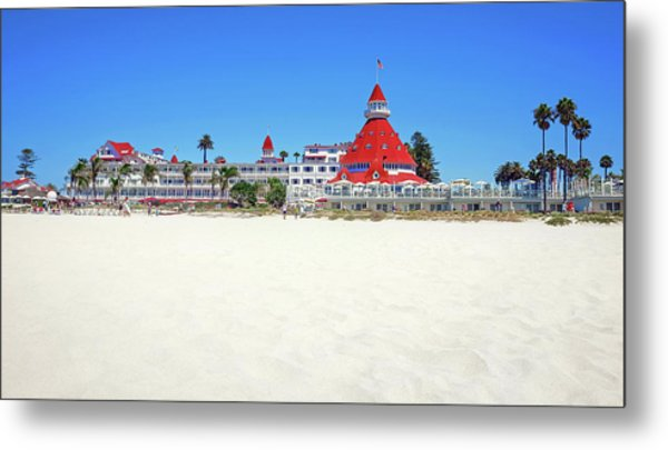 The Del Coronado Hotel San Diego California Metal Print