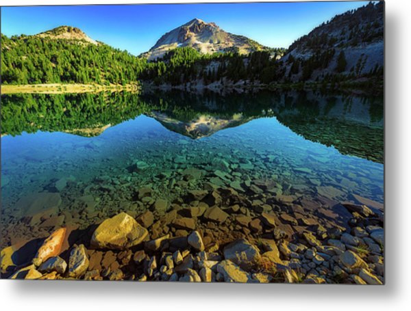 The Depths Of Lake Helen Metal Print