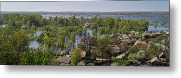 The Dnieper Vastness. Lyubech, 2010. Metal Print
