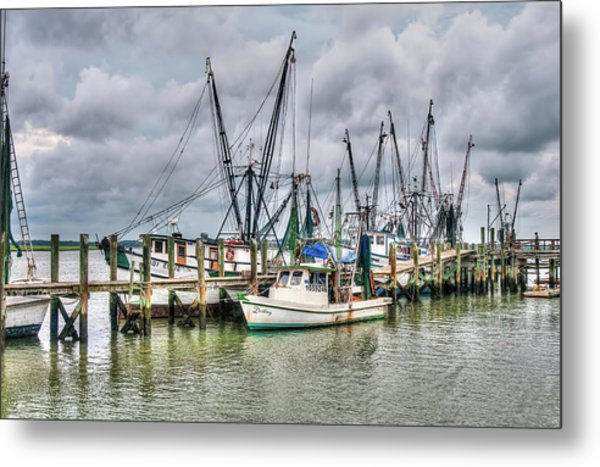 The Docks Metal Print