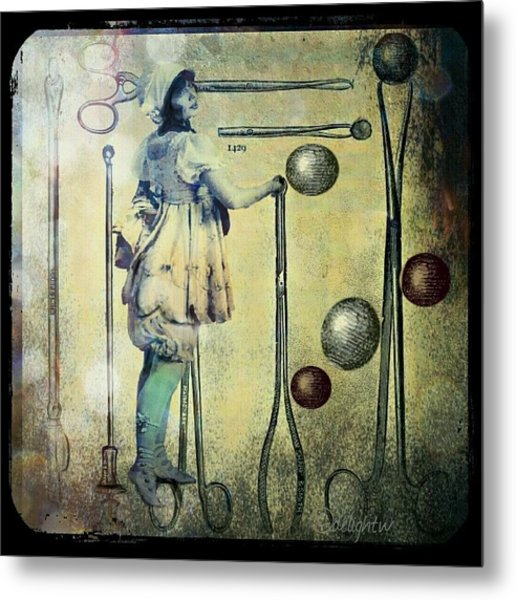 Metal Print featuring the digital art The Doctor Will See You Now by Delight Worthyn