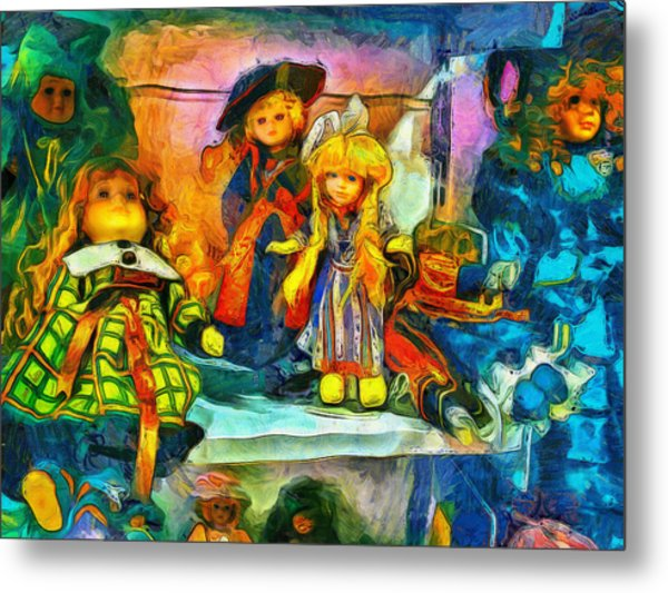 The Dolls Metal Print