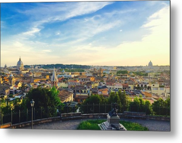 The Domes Of Rome Metal Print