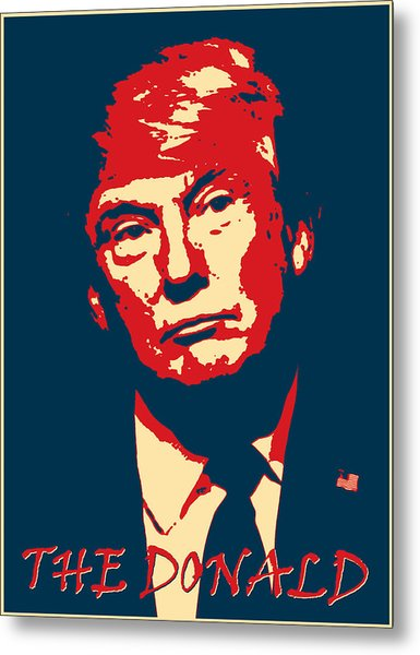 The Donald Metal Print