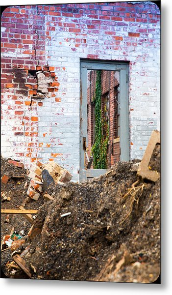 The Door Is Always Open Metal Print