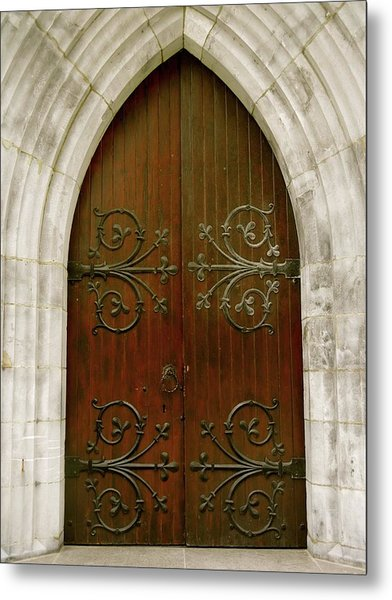 The Door Of Opportunity Metal Print