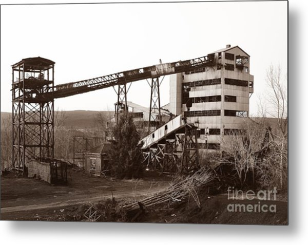 The Dorrance Coal Breaker Wilkes Barre Pennsylvania 1983 Metal Print