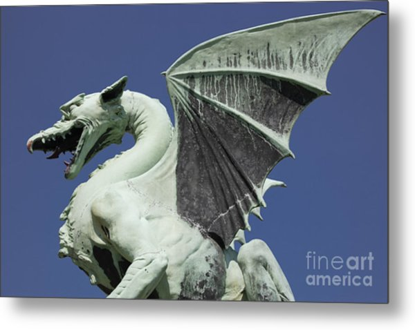 The Dragon Metal Print by Steve Outram