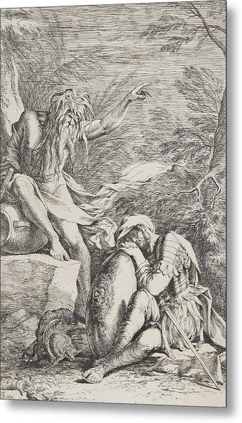 The Dream Of Aeneas Metal Print