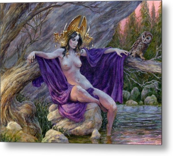 the dryad s throne painting by richard hescox