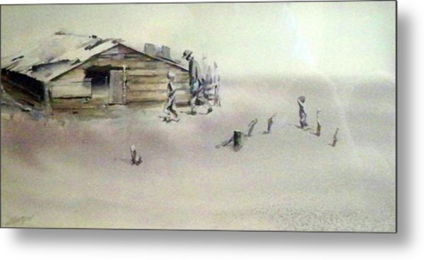 The Dustbowl Metal Print