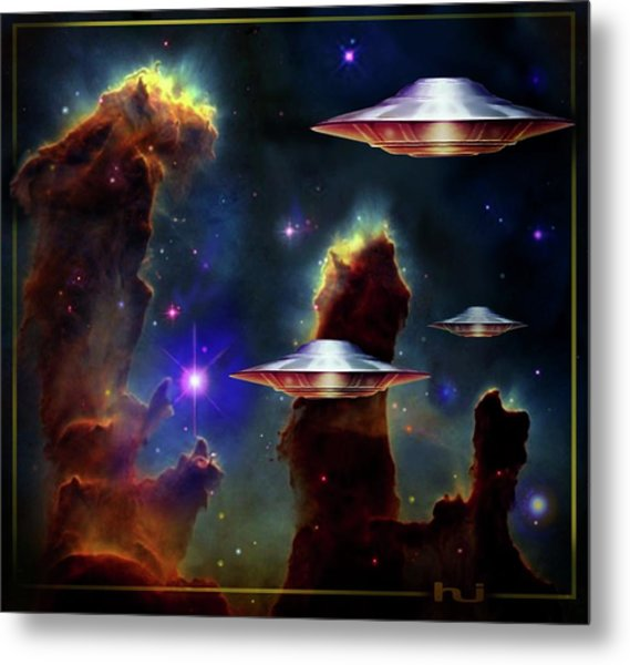 The  Eagle  Nebula  Metal Print