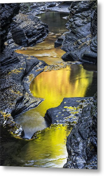 Golden Pond Metal Print