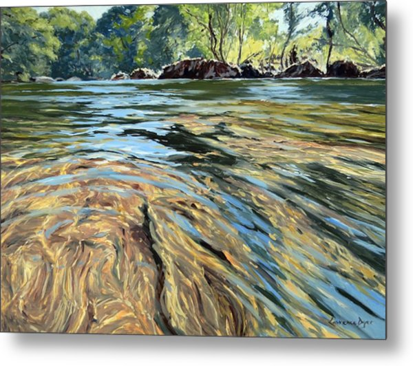 The East Dart River Dartmoor Metal Print