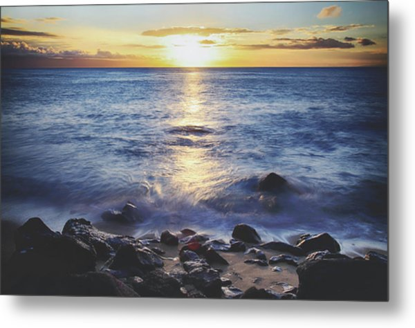 The Ebb And Flow Metal Print