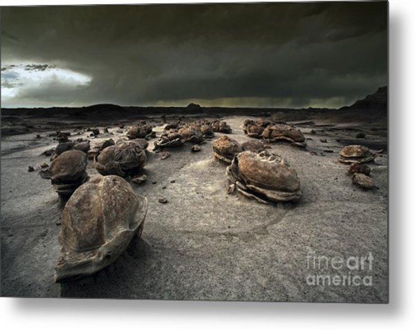The Egg Factory - Bisti Badlands Metal Print