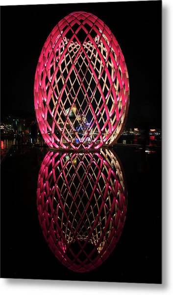 Metal Print featuring the photograph The Egg by Mark Dodd